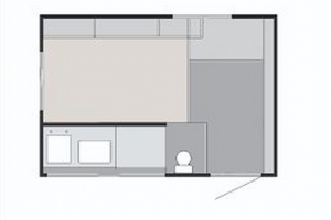 2020 Sunset Park RV SunRay Classic 139 layout_1270x960