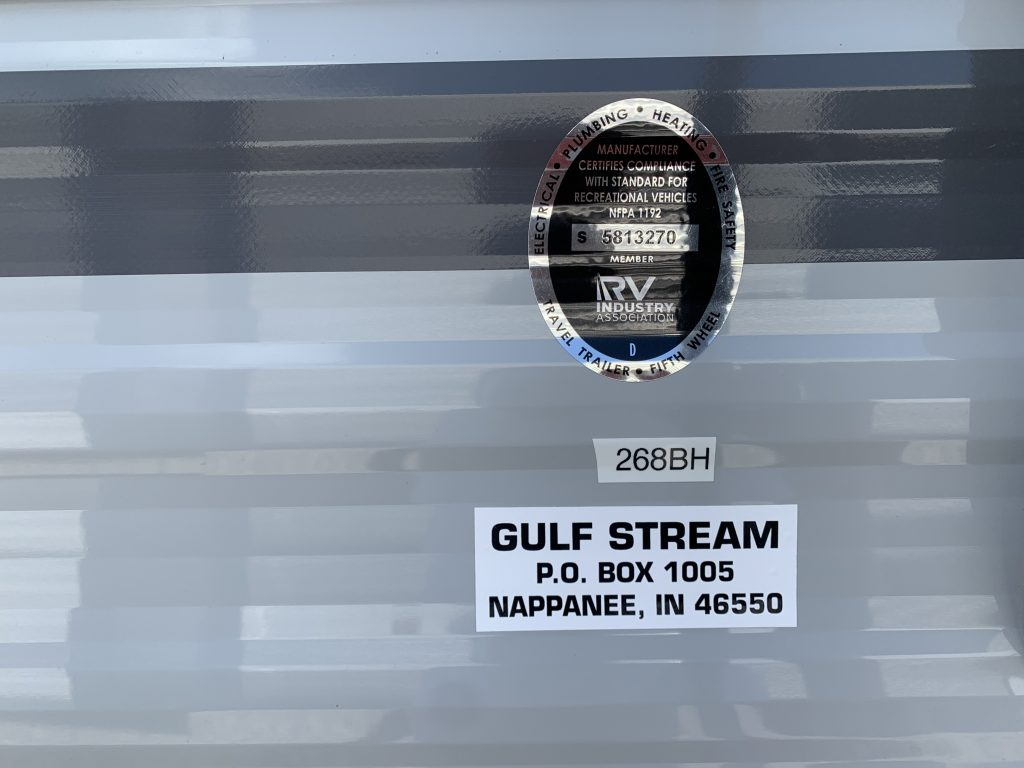 2021 Gulfstream RV, Amerilite 268BH